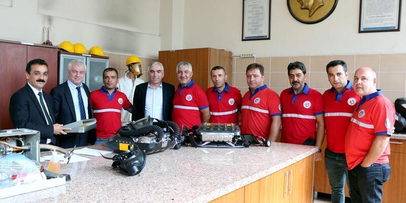 Uluslararası Maden Kurtarma yarışmasında Türkiye'yi temsil edecekler