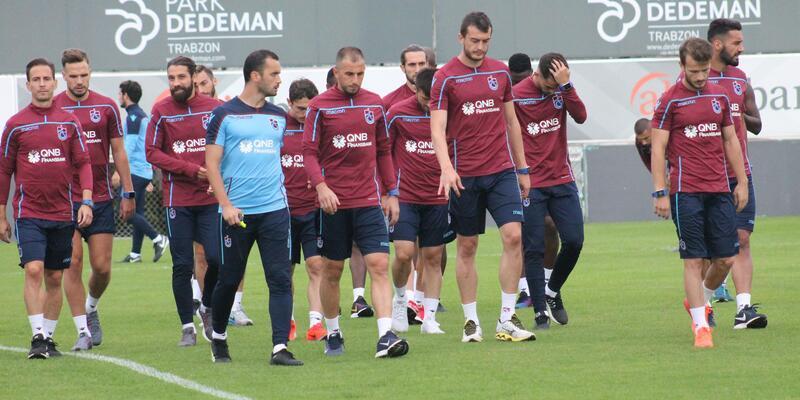 Trabzonspor'da Göztepe maçının hazırlıkları başladı