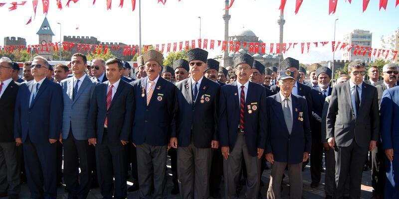 Kayseri'de Gaziler Günü etkinliği