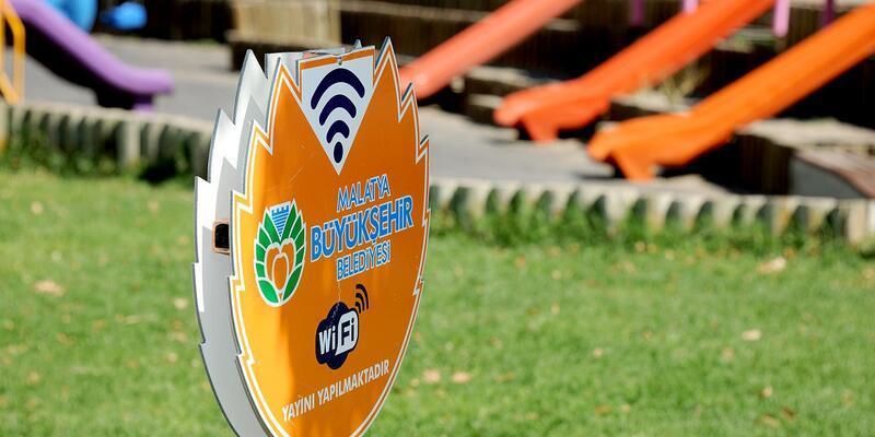 Malatya'da ücretsiz internet hizmeti