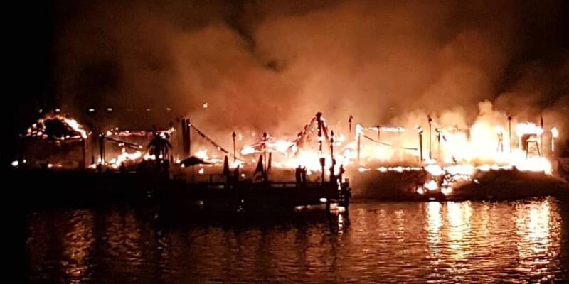 KKTC'deki 5 yıldızlı otelde korkutan yangın