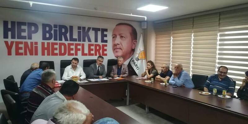 İl Başkanı Çopuroğlu, halk gününde sorun dinledi