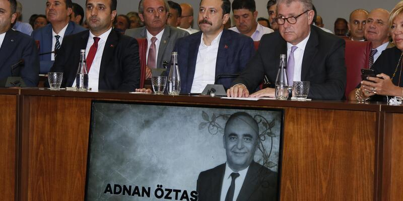 Adnan Öztaş'ın ismi TTO çok amaçlı toplantı salonunda yaşatılacak