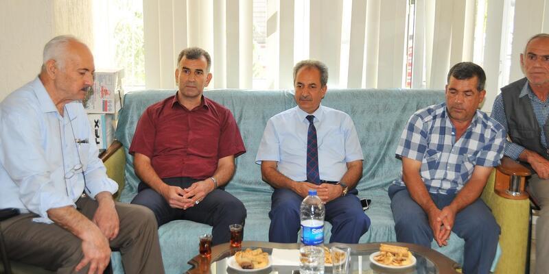 Akşehir Belediye Başkanı, şehit ve gazileri ziyaret etti