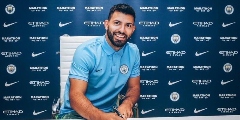 Agüero'nun sözleşmesi 1 yıl uzatıldı