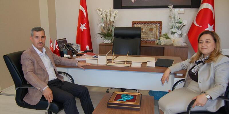 Başkan Çınar'dan Rektör Karabulut'a ziyaret