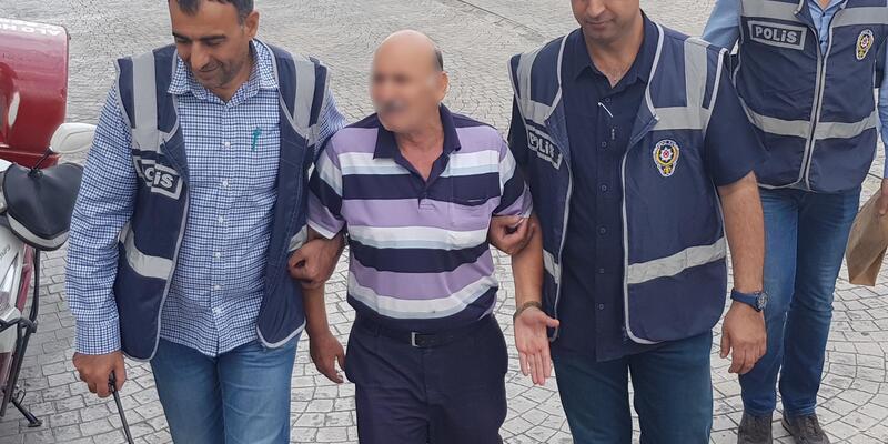 Engelli oğlunu sokak ortasında döven baba gözaltında (2)