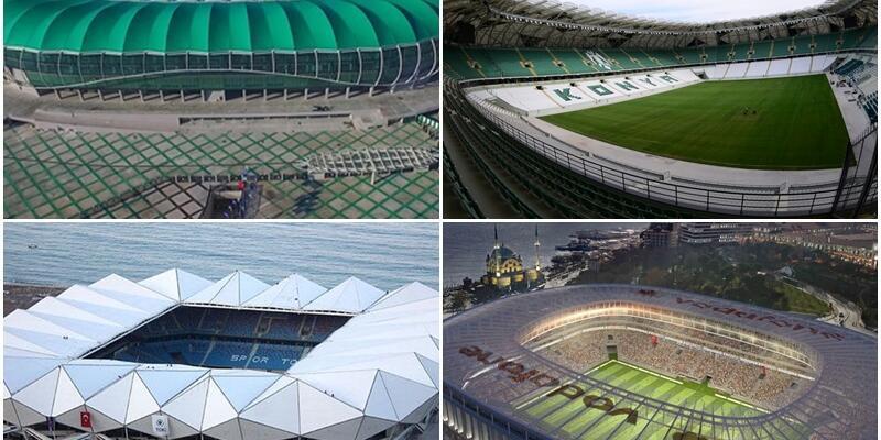 Türkiye stadyumlarıyla Almanya'yı geçti