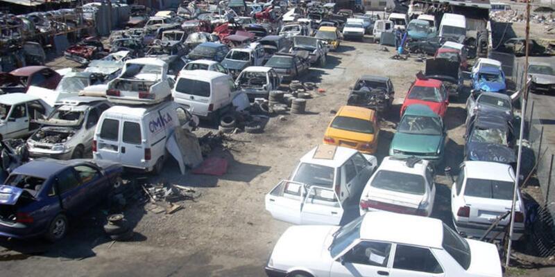 Hurda araçlar için otopark kurulacak