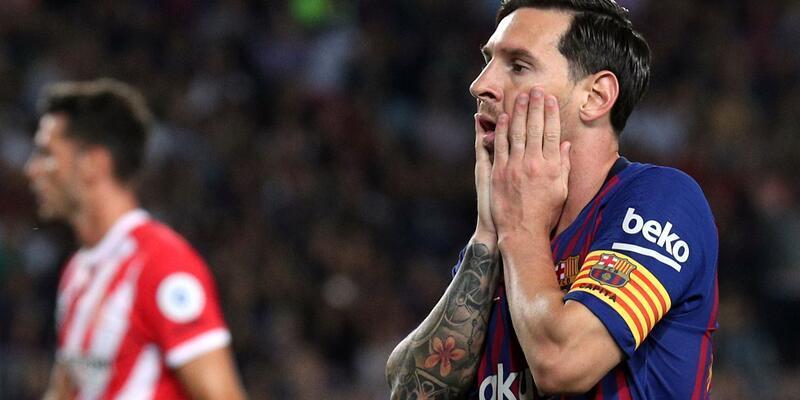 Barcelona ilk puan kaybını yaşadı