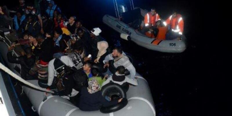 İzmir'in turistik ilçelerinin açıklarında 173 kaçak yakalandı