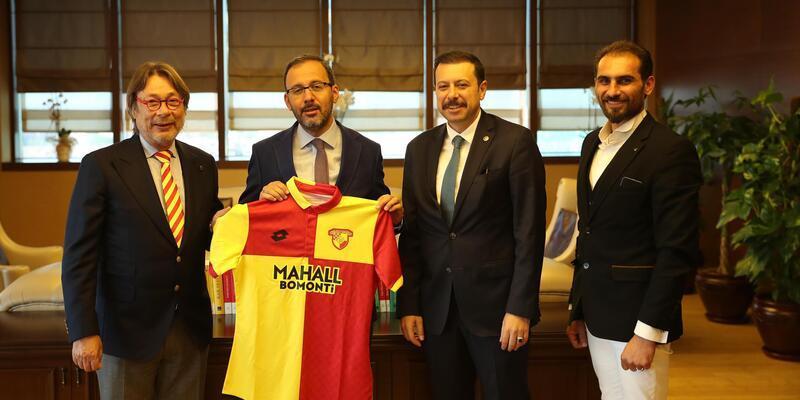 Göztepe'den Gençlik ve Spor Bakanı Kasapoğlu'na ziyaret