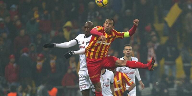 Beşiktaş-Kayserispor maçı İstanbul'da