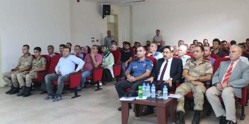 Toprakkale'de 'Okul Güvenliği' konulu seminer