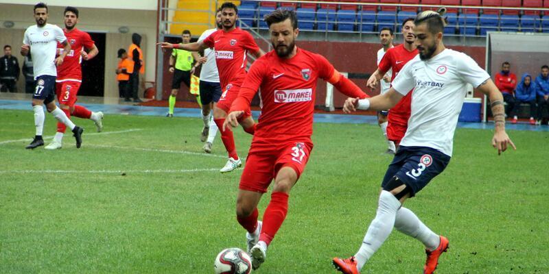 Zonguldak Kömürspor - Bayrampaşa: 4-1