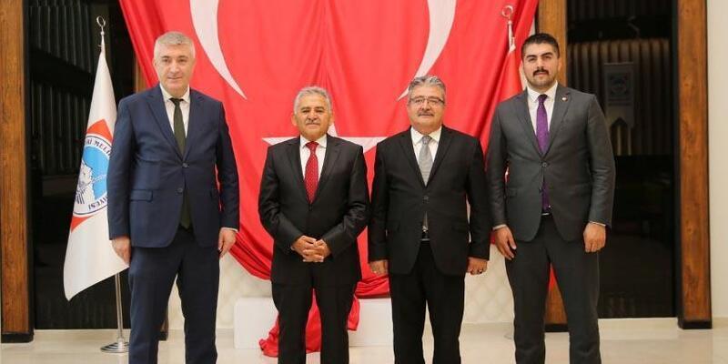 MHP İl Başkanı Tok'tan, Melikgazi Belediyesine ziyaret