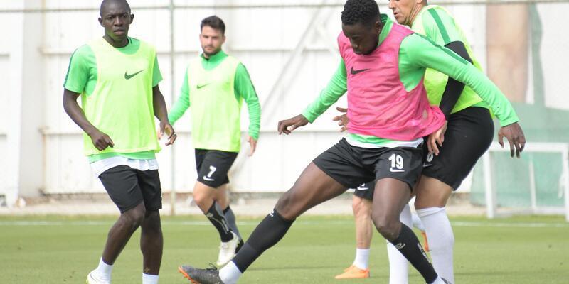Atiker Konyaspor, Göztepe maçının hazırlıklarını sürdürüyor