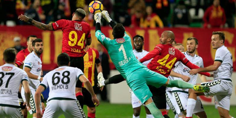 Göztepe Konyaspor maçı 11'leri