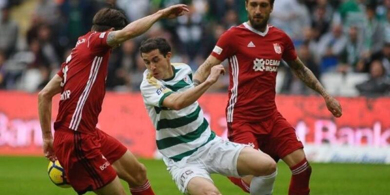 Sivasspor Bursaspor maçı muhtemel 11'leri