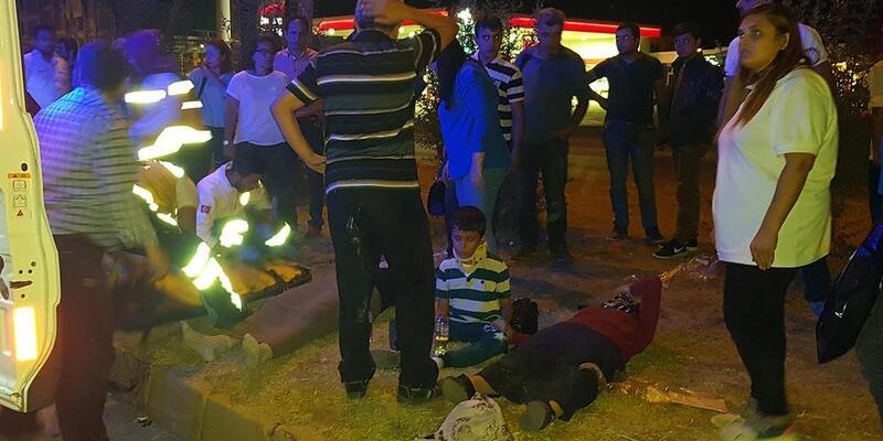 Manisa'da kaza: 4 yaralı