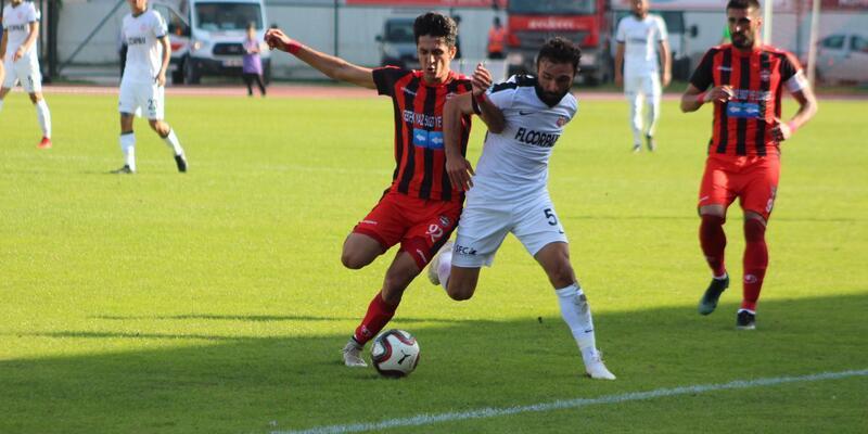 Kastamonuspor 1966 - Gaziantepspor: 5-1