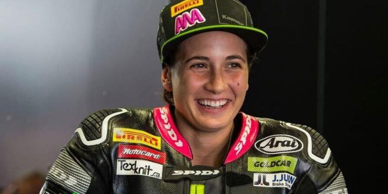 Motosiklet şampiyonasında ilk kadın şampiyon
