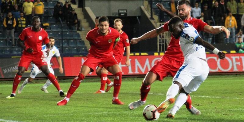Ankaragücü 0-1 Antalyaspor