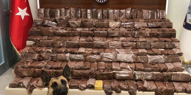 Van'da 141 kilo 730 gram eroin ele geçirildi