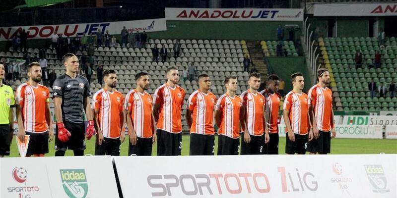 Adanaspor ilk galibiyetini aldı