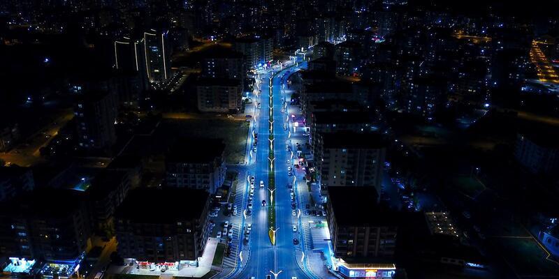 Malatya'da, 'Prestij Caddesi' çalışması