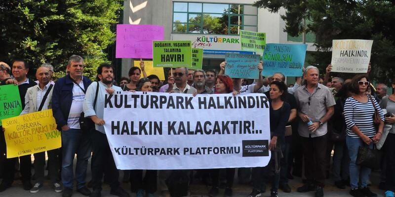 Kültürpark Platformu'ndan Büyükşehir Belediyesi'ne çağrı