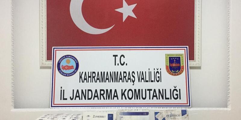 920 paket kaçak sigaraya 17 bin lira ceza