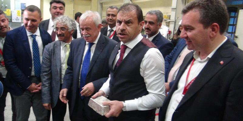 TMSF Başkanı Gülal, Koza Altın Madeni ve İpek Çiftliği'ni gezdi