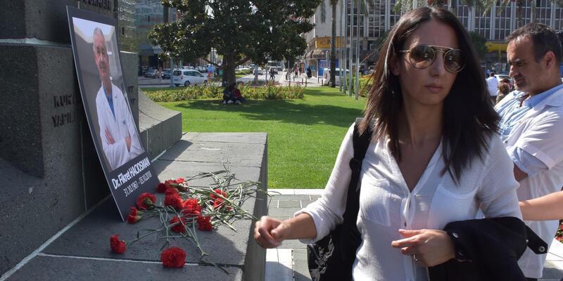İstanbul'da doktora silahlı saldırıya İzmir'deki meslektaşlarından tepki