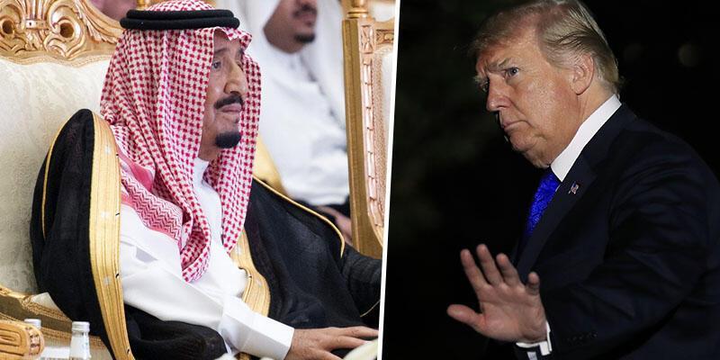 Trump'tan Suudi Kralı'na 'Biz olmasak iktidarda 2 hafta bile kalamazsın'