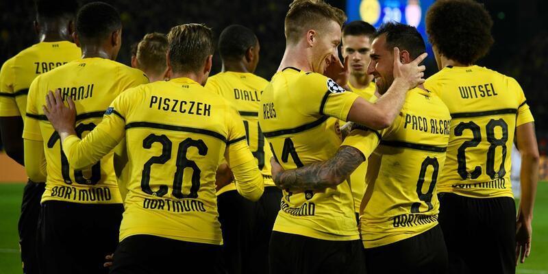 Dortmund 3-0 Monaco / Maç özeti