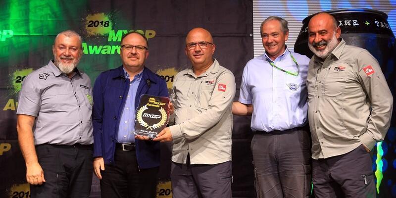"""Afyonkarahisar'a """"MXGP En İyi Altyapı"""" ödülü"""