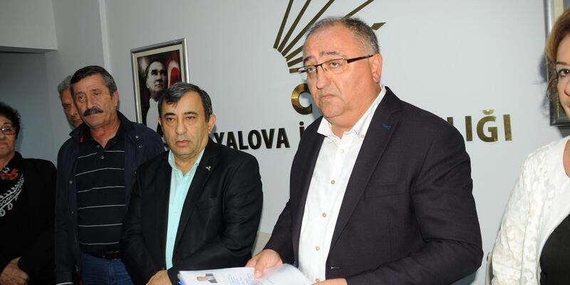 Yalova Belediye Başkanı Salman, aday adaylığını açıkladı