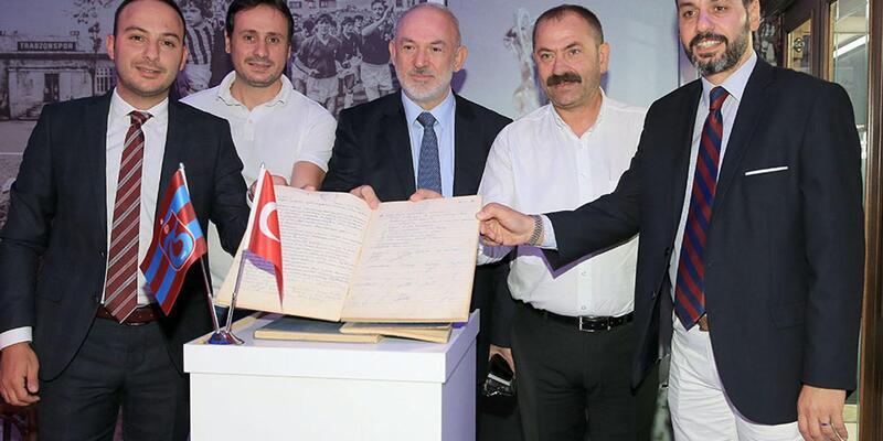 Trabzonspor'un çalınan karar defterleri iade edildi