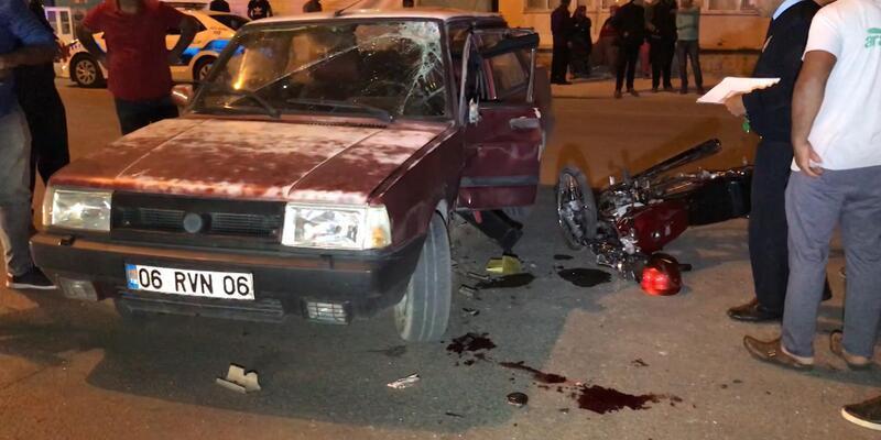 Ereğli'de kaza:2 yaralı