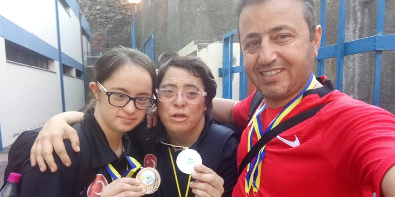 Down Sendromlu Türk sporculardan 6 madalya