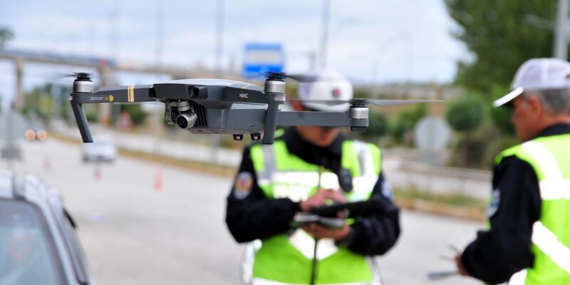 Tokat'ta drone ile trafik denetimi, ihlalleri azalttı