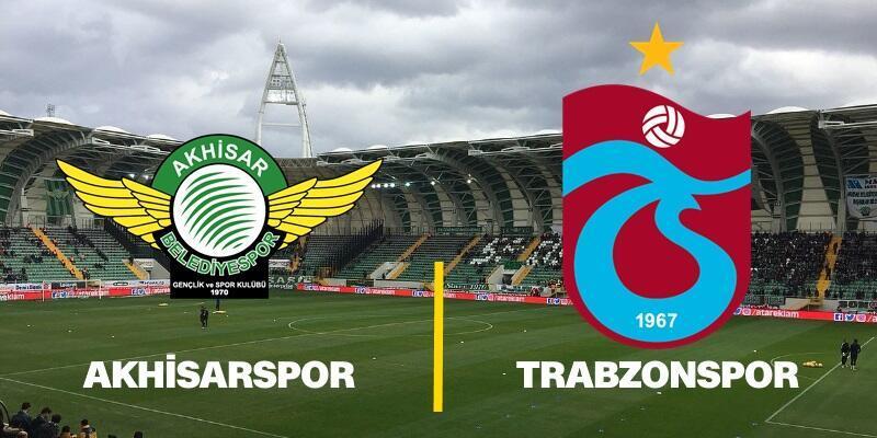 Akhisarspor-Trabzonspor maçı ne zaman, saat kaçta? (8. hafta)
