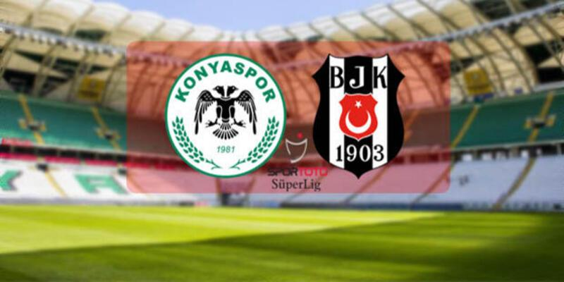 Konyaspor - Beşiktaş maçı 11'leri