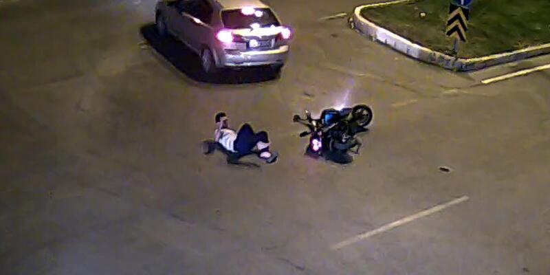 Erzincan'da kazalar Mobese kameralarında