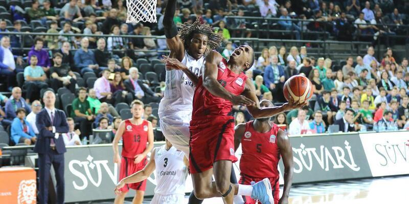 Darüşşafaka Tekfen - Gaziantep Basketbol: 62-63 maç sonucu