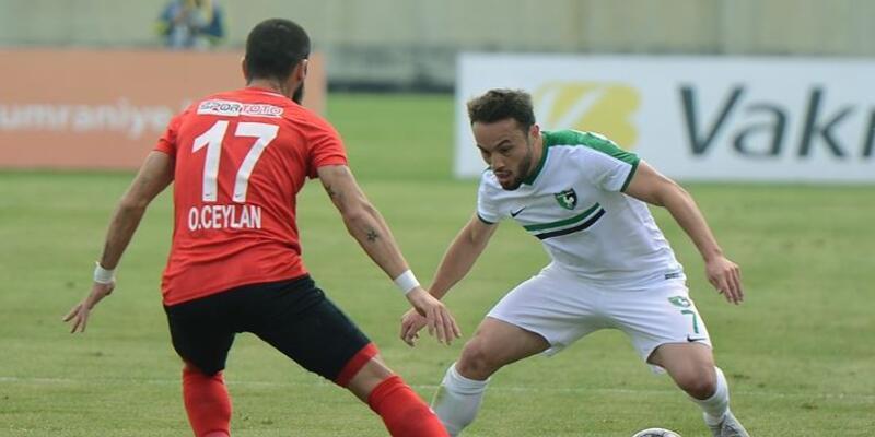 Ümraniyespor 3-0 Denizlispor maç sonucu