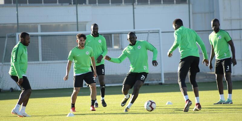 Atiker Konyaspor, Beşiktaş maçına hazır