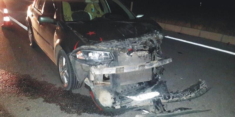 Yozgat'ta otomobiller çarpıştı: 2'si ağır, 5 yaralı