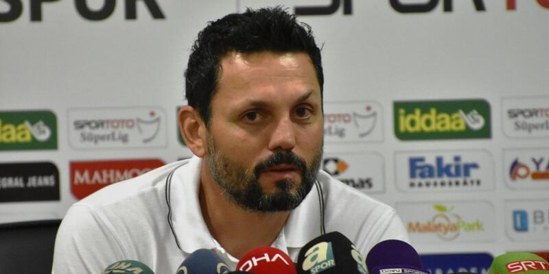 Evkur Yeni Malatyaspor-Demir Grup Sivasspor maçının ardından